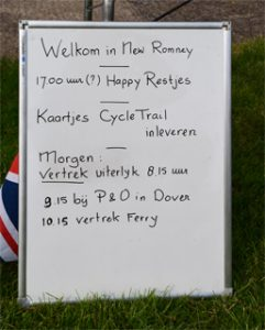 welkom in New Romney